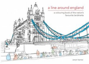 A Line Around England: An Illustrated Journey