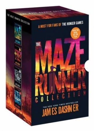 Maze Runner Collection: 4 Book Box Set