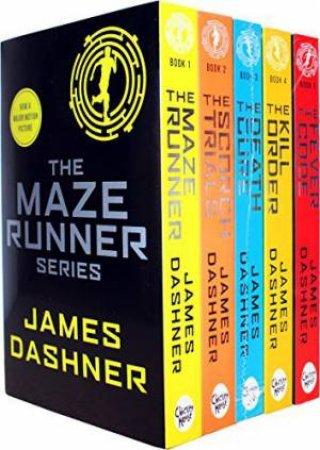 The Maze Runner 5 Book Set