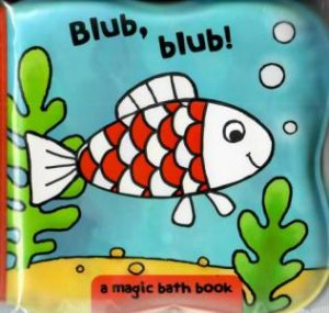 Magic Ocean Bath Book: Fish