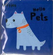 Softies Crinkle Cloth Hello Pets