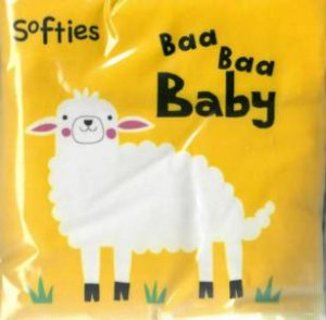 Softies Crinkle Cloth: Baa, Baa Baby