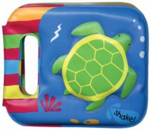 Shake And Play Bath Book: Turtle