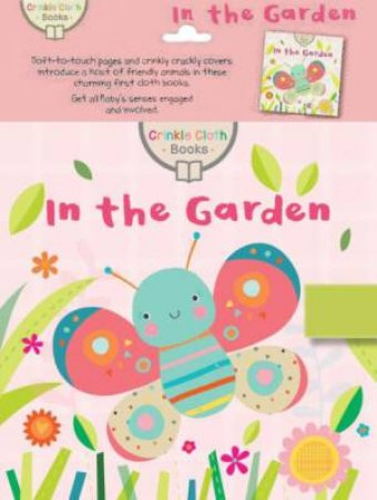 Crinkle Cloth Book: Garden