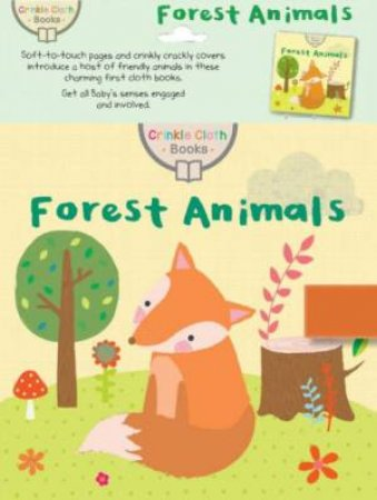 Crinkle Cloth Book: Forest Animals