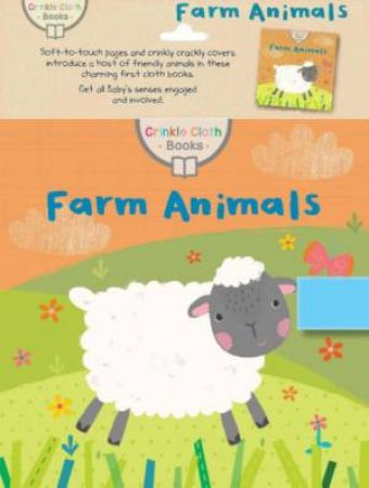 Crinkle Cloth Book: Farm