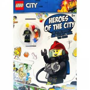 Lego Heroes Of The City: Creative Doodle And Activity Book by Various