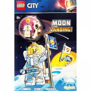 Lego Moon Landing Activity Book And Figure by Various