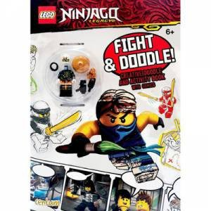Lego Ninjago Fight And Doodle Activity Book With Toy by Various