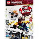 Lego Ninjago Fight And Doodle Activity Book With Toy