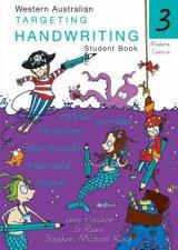 WA Targeting Handwriting Student Book Year 3