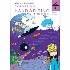 WA Targeting Handwriting Student Book Year 4