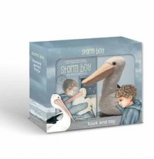 Storm Boy With Pelican Toy Gift Set