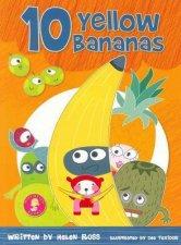 10 Yellow Bananas