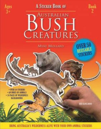 A Sticker Book of Australian Bush Creatures