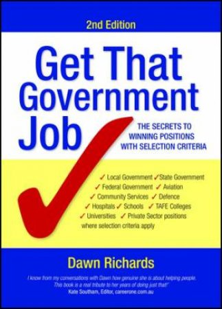 Get That Government Job (2nd Edition) by Dawn Richards