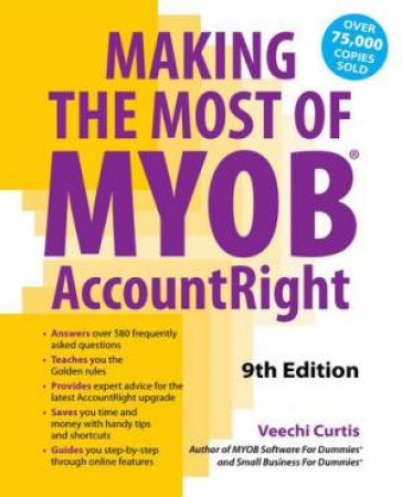 Making the Most of MYOB AccountRight (9th Edition)