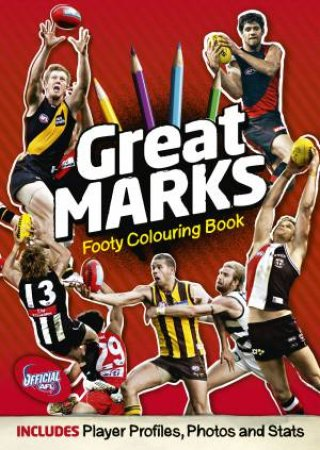 Great Marks Deluxe Colouring Book by Various