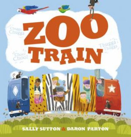 Zoo Train by Sally Sutton & Daron Parton