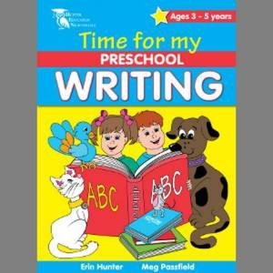 Time for my Preschool: Writing