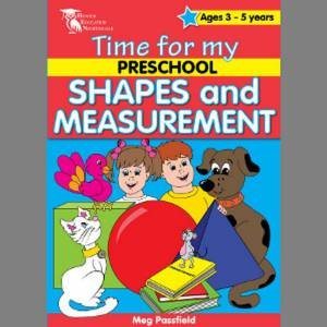 Time for my Preschool: Shapes & Measurements