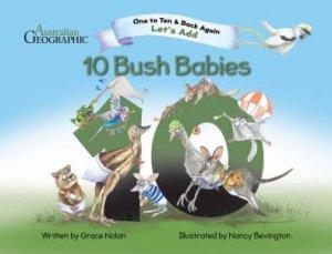 Let's Add - Ten Bush Babies by Grace Nolan & Nancy Bevington