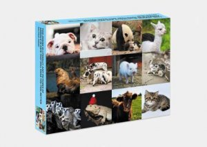 This Jigsaw Is Literally Just Pictures Of Cute Animals That Will Make You Feel Better by & Stephanie Spartels
