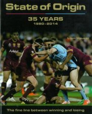 State of Origin: 35 Years 1980-2014 by Liam Hauser