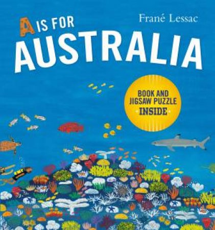 A Is For Australia: Boxed Set With Jigsaw by Frane Lessac