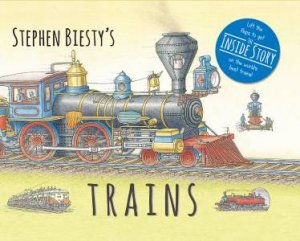 Stephen Biesty's Trains!