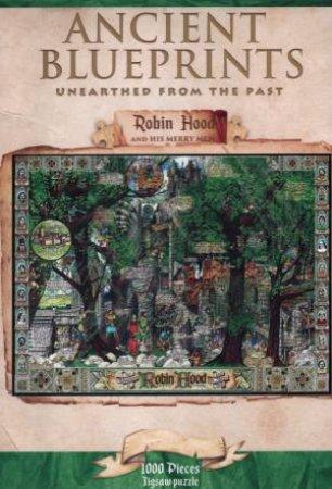 Ancient Blueprints 1000 Piece Jigsaw: Robin Hood And His Merry Men