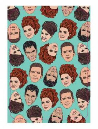 Will & Grace Playing Cards by Chantel de Sousa