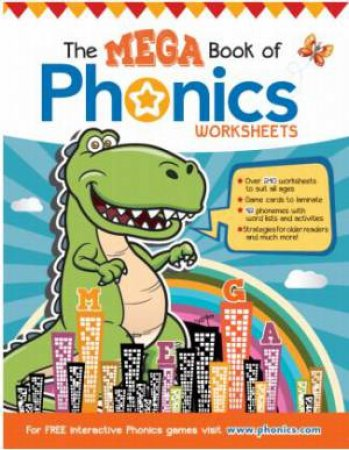 The Mega Book of Phonics Worksheets