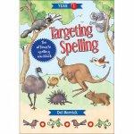 Targeting Spelling Activity Book 01  by Del Merrick