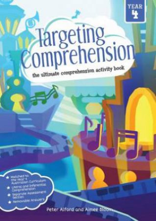 Targeting Comprehension Activity Books - Year 4
