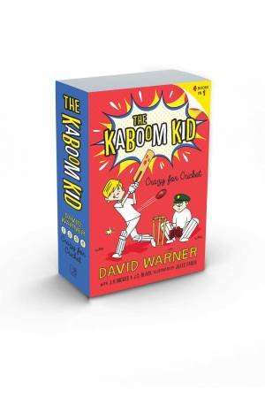 Crazy For Cricket: The Kaboom Kid Books 1-4 by David Warner