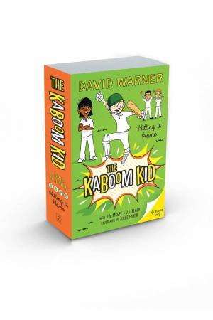 Hitting It Home: The Kaboom Kid Books 5-8 by David Warner