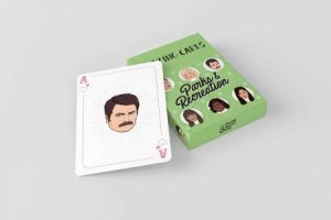 Parks And Recreation Playing Cards by Chantel de Sousa