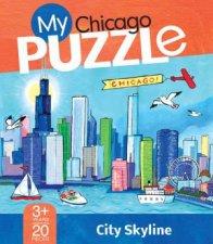 My Chicago Puzzle City Skyline