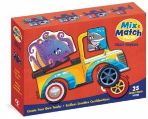 Mix & Match Puzzle: Silly Trucks