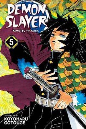 Demon Slayer: Kimetsu No Yaiba Vol. 5 by Koyoharu Gotouge