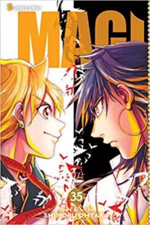 Magi: The Labyrinth Of Magic, Vol. 35 by Shinobu Ohtaka