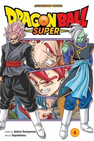 Dragon Ball Super 04 by Akira Toriyama & Toyotarou