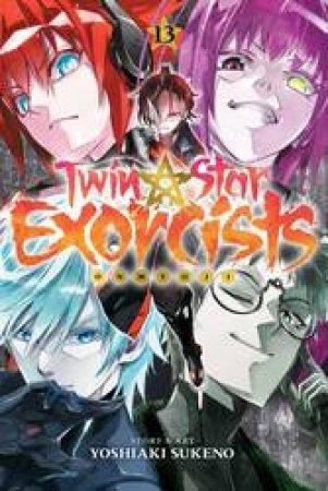Twin Star Exorcists 13 by Yoshiaki Sukeno