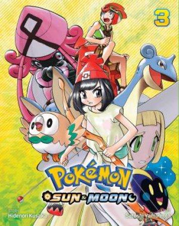 Pokemon: Sun & Moon, Vol. 3 by Hidenori Kusaka