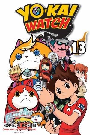 Yo-Kai Watch, Vol. 13 by Noriyuki Konishi