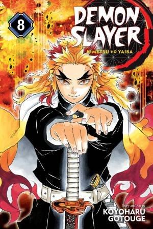 Demon Slayer: Kimetsu No Yaiba 08 by Koyoharu Gotouge
