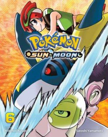 Pokemon: Sun & Moon, Vol. 6 by Hidenori Kusaka