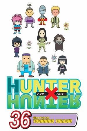Hunter x Hunter 36 by Yoshihiro Togashi