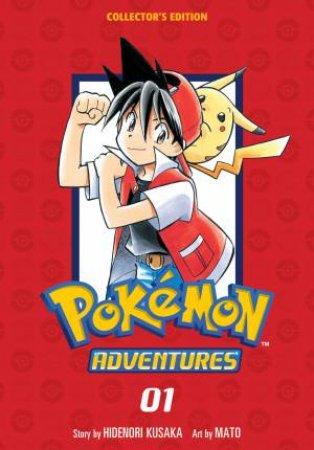 Pokemon Adventures Collector's Edition, Vol. 1 by Hidenori Kusaka